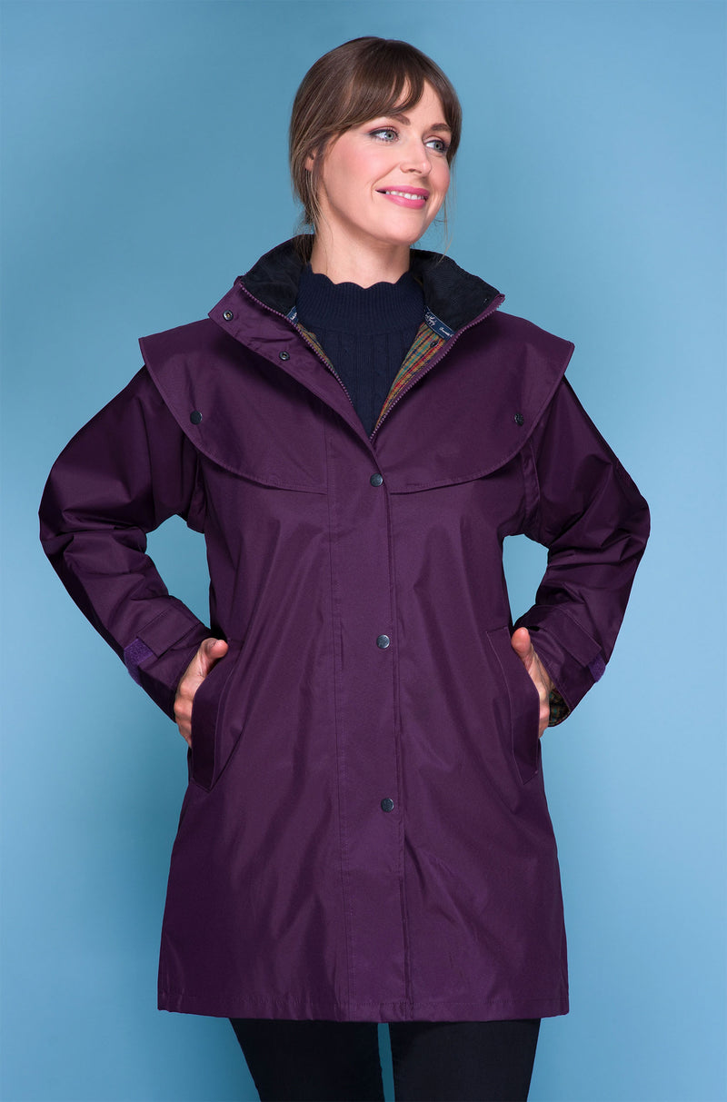 Blackberrry Jack Murphy Cotswold Three Quarter length Ladies Coat