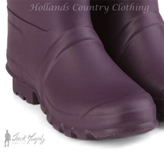 black berry foot Jack Murphy Sligo Wellington - Rubber with Neoprene Lining.