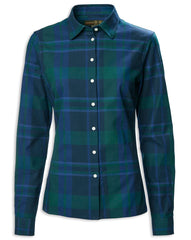 Highland Navy Ladies Country Shirt by Musto