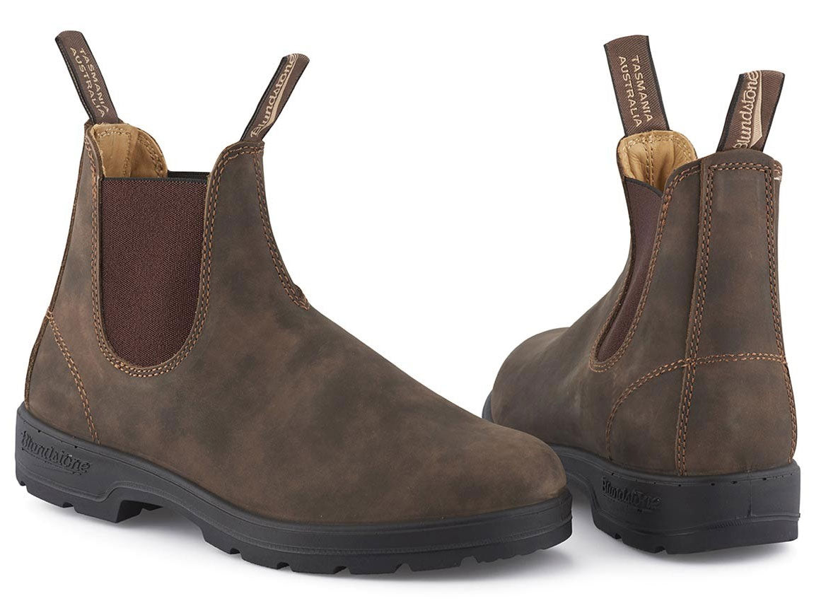 Classic 585 Series Leather Boots by Blundstone