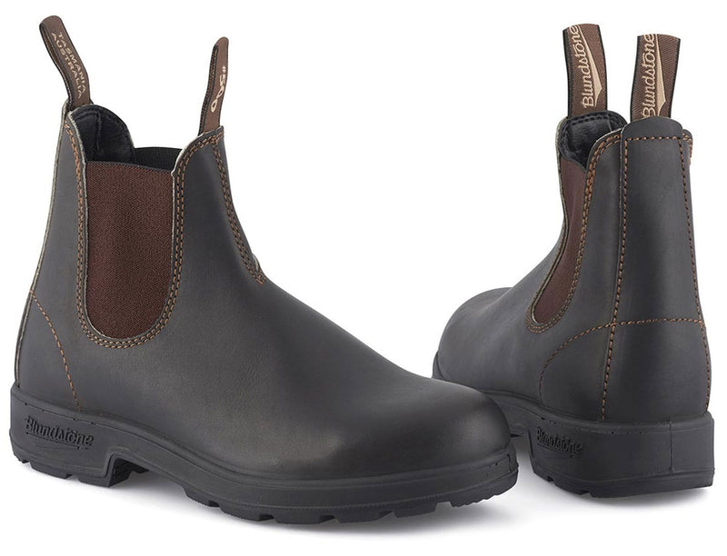 Stout BrownOriginal 500 Series Leather Boots by Blundstone