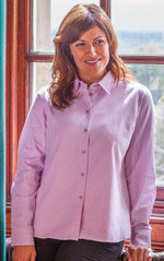 ladies Hoggs of Fife Bonnie Stripe Shirt