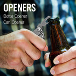 Bottle opener, can opener