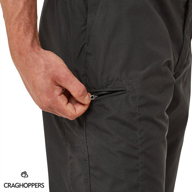 Zip side pocket