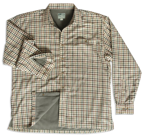 Bracken Micro Fleece Lined Shirt by Hoggs of Fife.