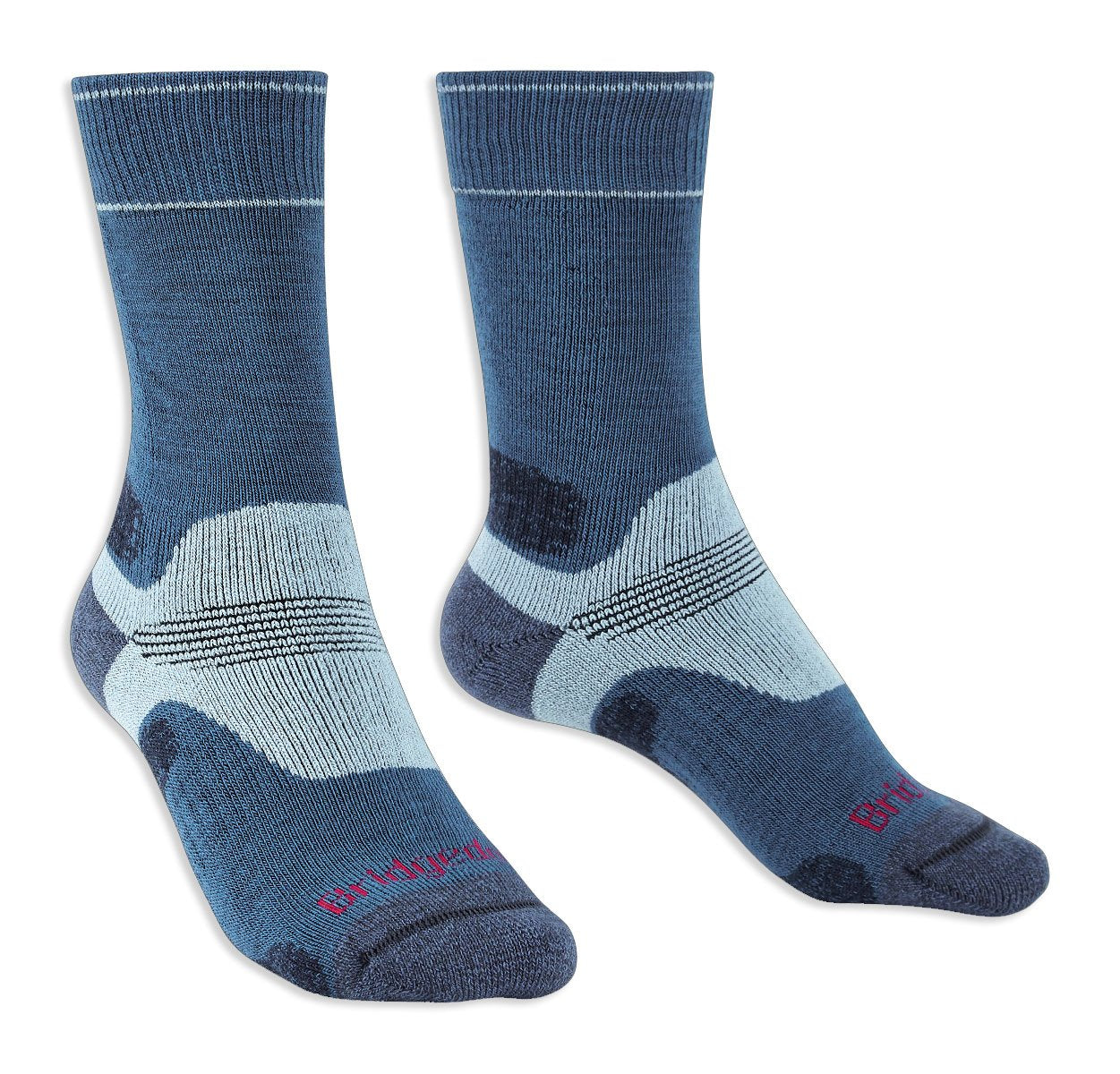 Blue Bridgedale Women's Hike Performance Sock