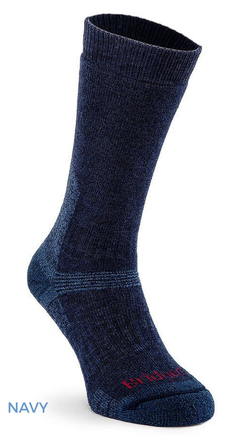 Navy Bridgedale Explorer Heavyweight Sock