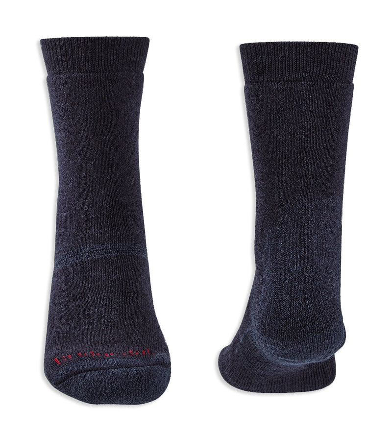 Toe and Heel Navy Socks