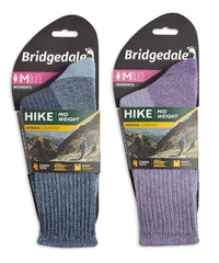 Packaging Ladies Hike Merino Comfort Sock by Bridgedale