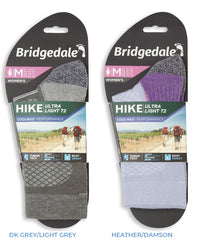 Bridgedale Women's Hike Ultra Light T2 Boot Sock