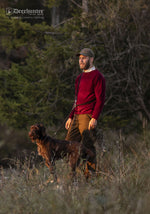 Walking with a dog Deerhunter Brighton Knitted Crew-neck Sweater