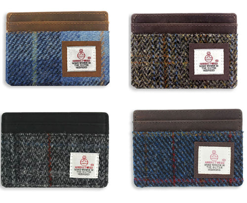 British Bag Co. Harris Tweed Card Holder