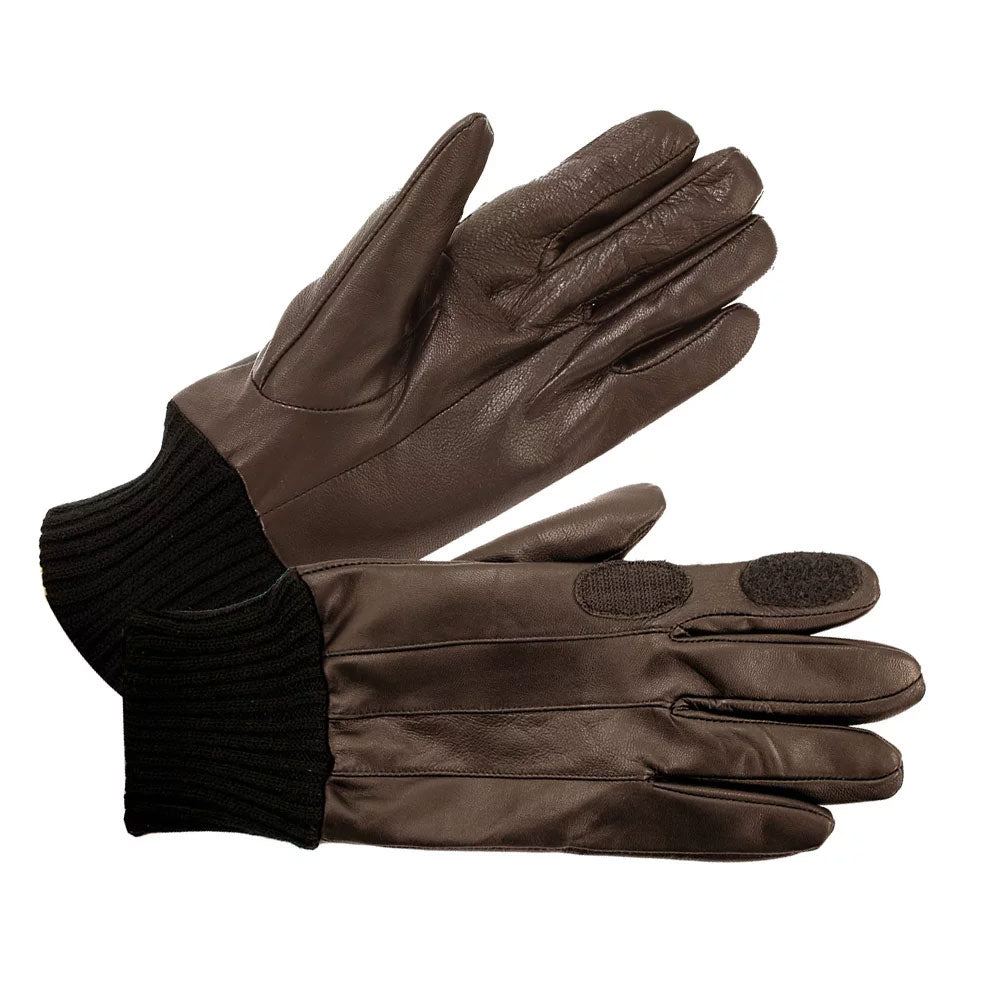 Brown British Bag Company Leather Shooting Glove