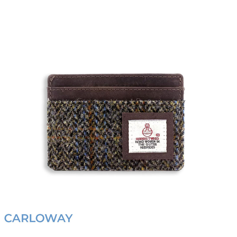 Carloway tweed British Bag Co. Harris Tweed Card Holder