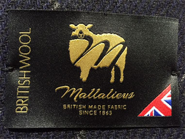 the Mallalieus British Wool Label - authenticates this cap
