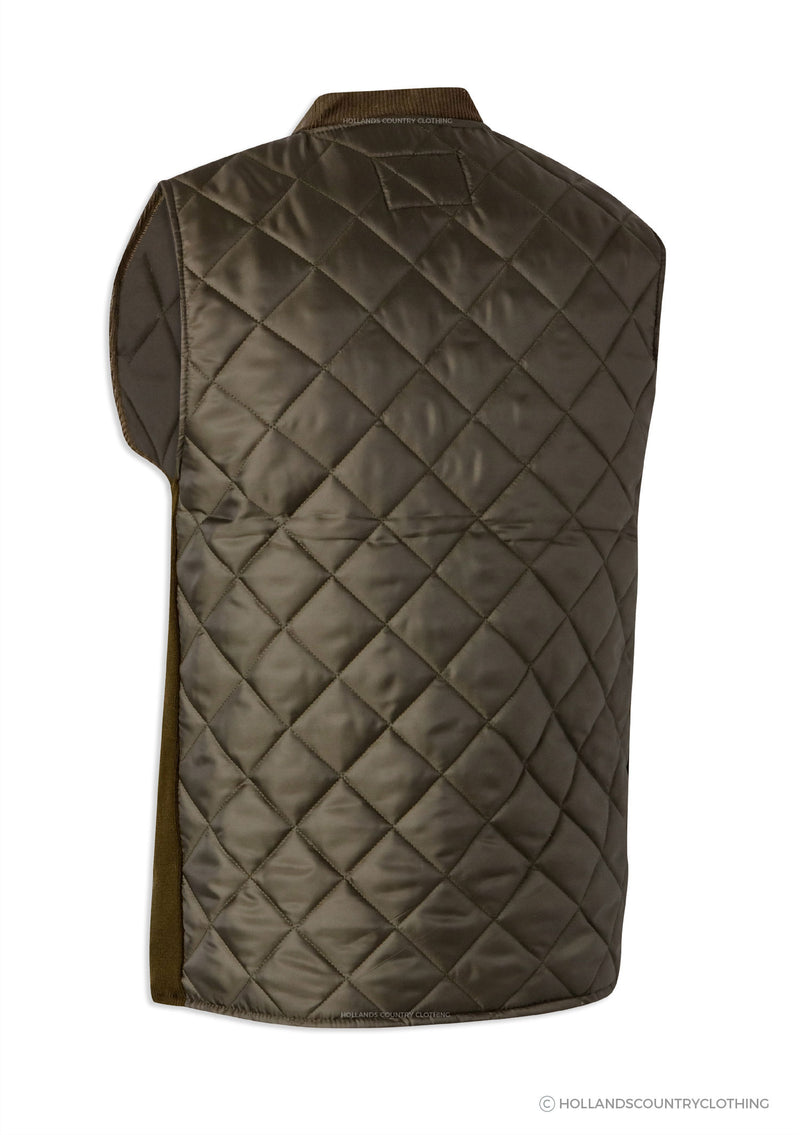 Diamond Quilted bodywarmer back
