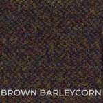 Brown Barleycorn Tweed swatch