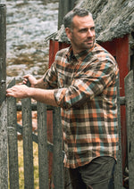 Brown Check country shirt