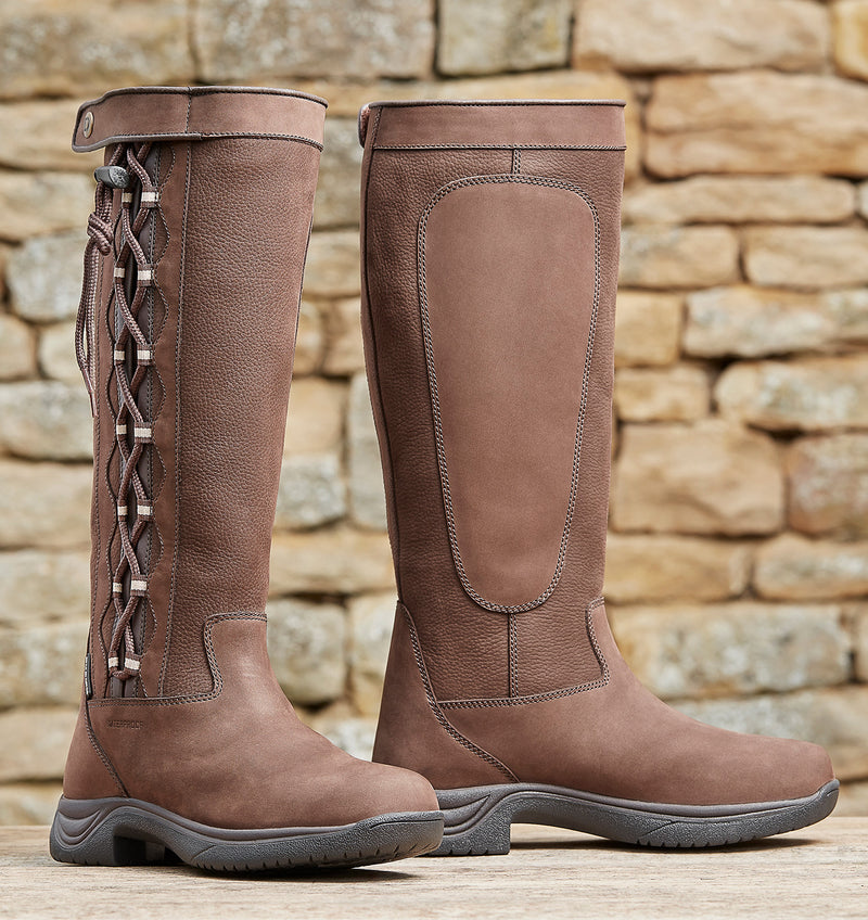 Pinnacle Leather High leg boots