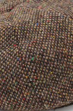 Tweed swatch Colour; Brown Salt and Pepper