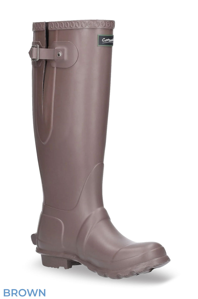 Brown Cotswold Windsor Regular Fitting Premium Quality Unisex Wellingtons
