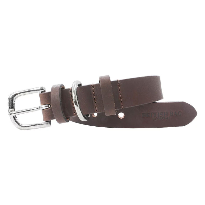 Brown British Bag Co. Leather Dog Collar#