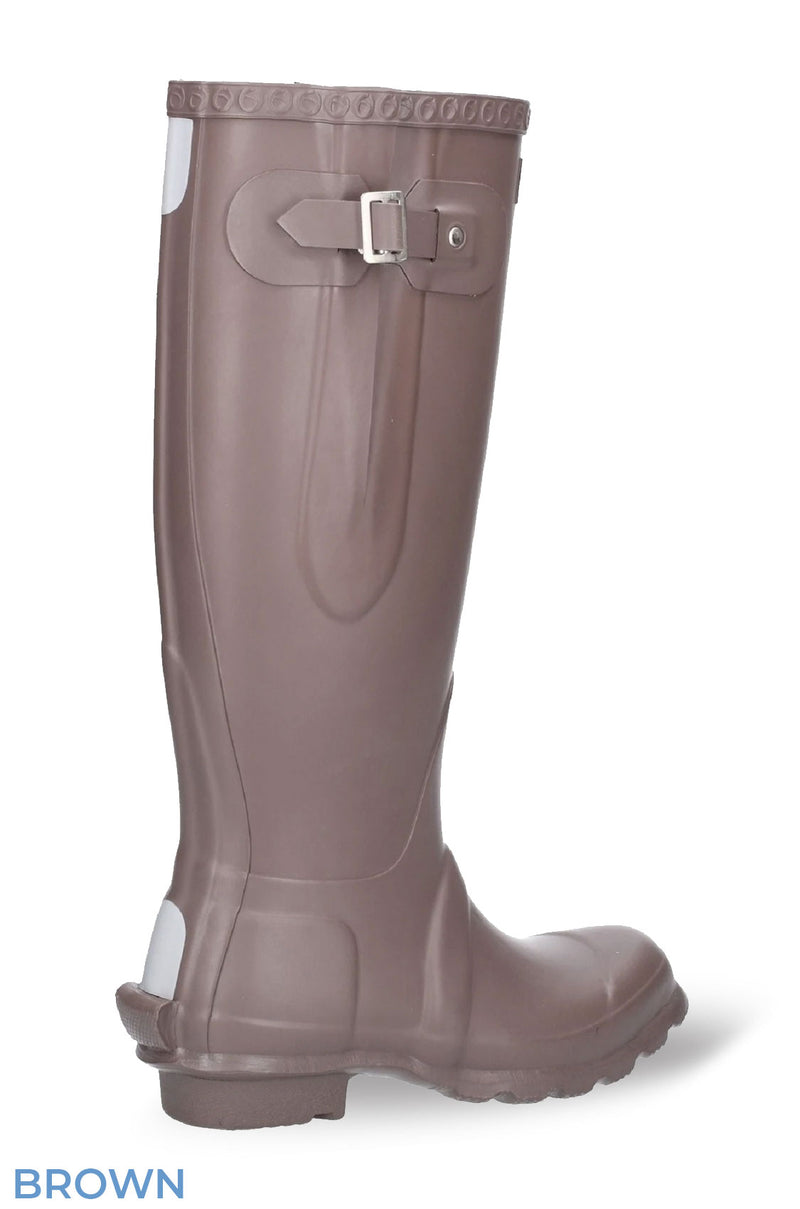 Brown Country Rubber Wellies