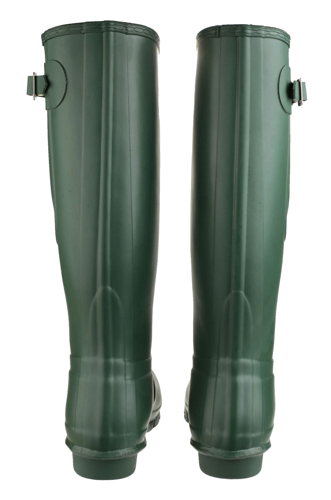 Back view Green Cotswold Windsor Regular Fitting Premium Quality Unisex Wellingtons