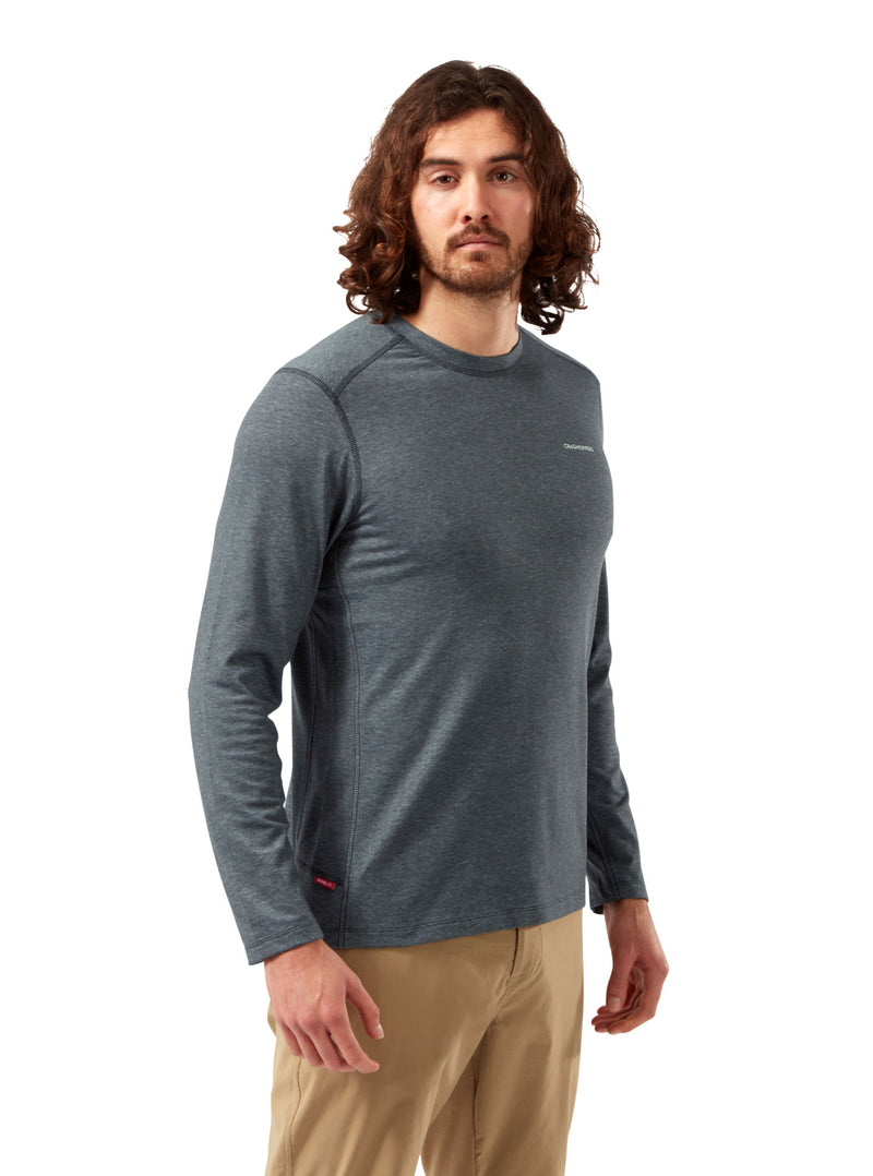 Grey  long sleeve top Craghoppers