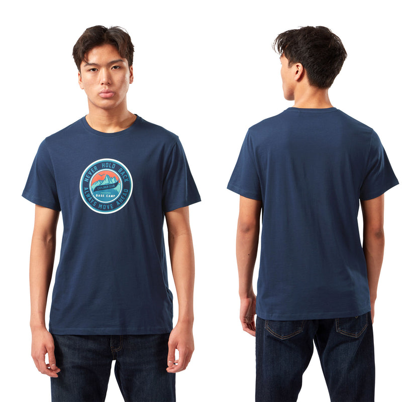 Blue Navy Circle Craghoppers Mightie T-shirt