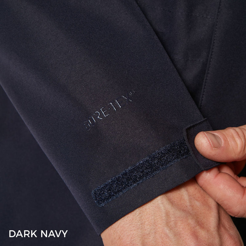 Navy Sleeve Detail
