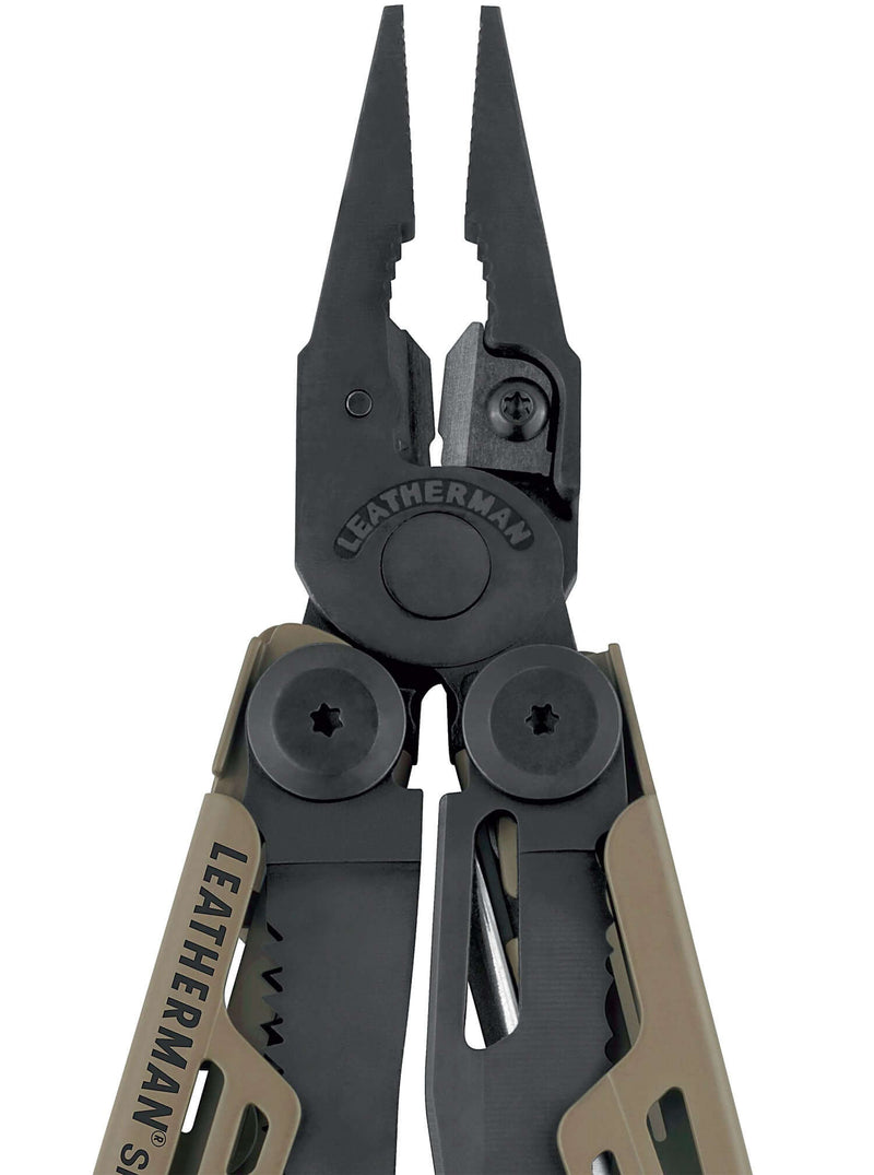 Black Plier grip  BLACK AND COYOTE