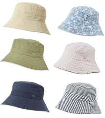Craghoppers NosiLife Ladies Sun Hat Reversible in Navy, moss and sand