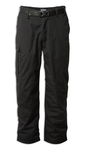 Craghoppers Kiwi Winter Lined Trousers | Black