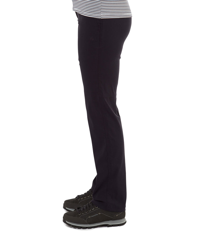 Dark Navy Side View Craghoppers Kiwi Pro II Ladies Trousers