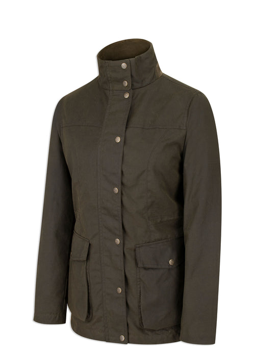 Hoggs of Fife Caledonia Ladies Antique Wax Jacket