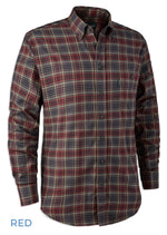 Red Tartan Deerhunter Calvin Check Shirt