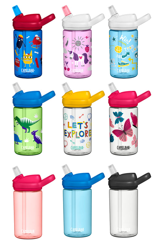 CamelBak Eddy+ Child's Colourful Water Bottle