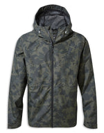Camouflage print Balla Waterproof Jacket by Craghoppers