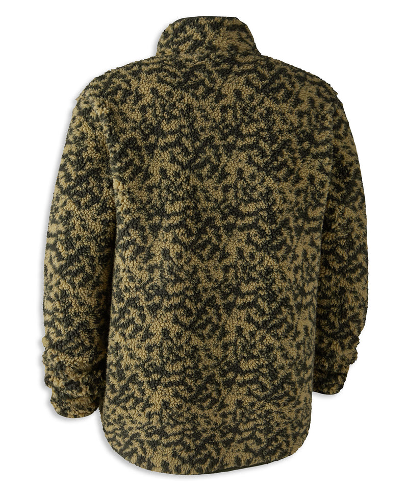 Cypress Camouflage Deerhunter Germania Fibre Pile Fleece Jacket