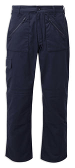 Navy Blue Fort Action Multi-pocket Trousers 909