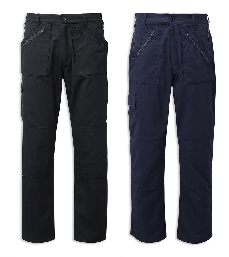 Castle Fort Action Trousers | Black, Navy