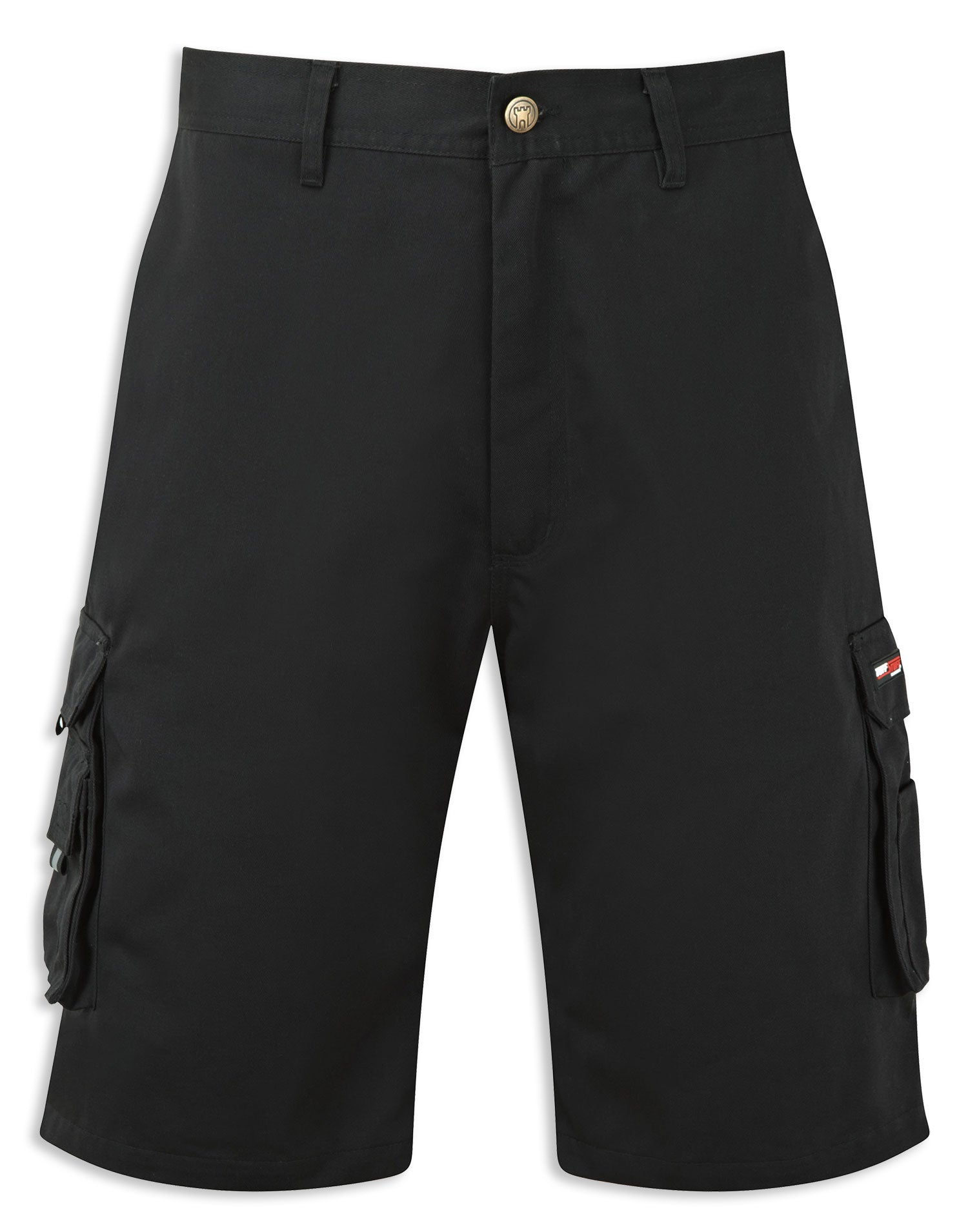 Black Work short with cargo pockets