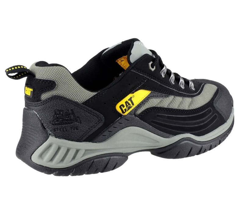 CAT Gold Tab Moor Safety Trainer Shoe SB Black