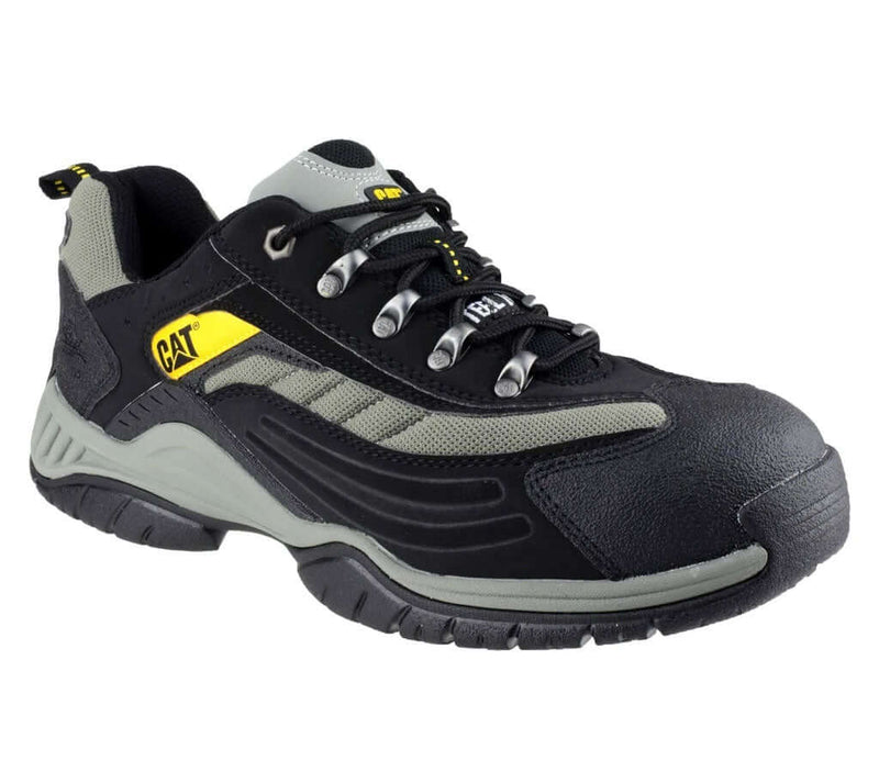 Caterpillar Cat Moor Safety Trainer | Black Grey Gold