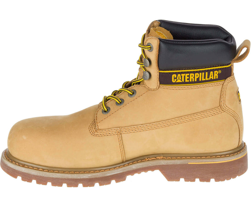 HoneyCaterpillar Holton Leather Safety Boot