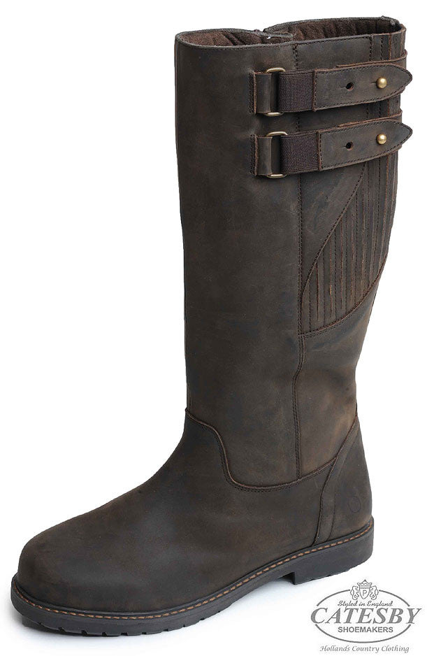 Catesby Moreton Men's Waterproof Leather  Knee High Country Boots