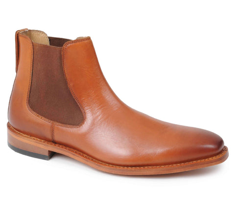 Catesby Tan All Leather Dealer Boot