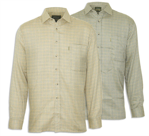 Champion Cartmel Field Tattersall Shirt in two colours