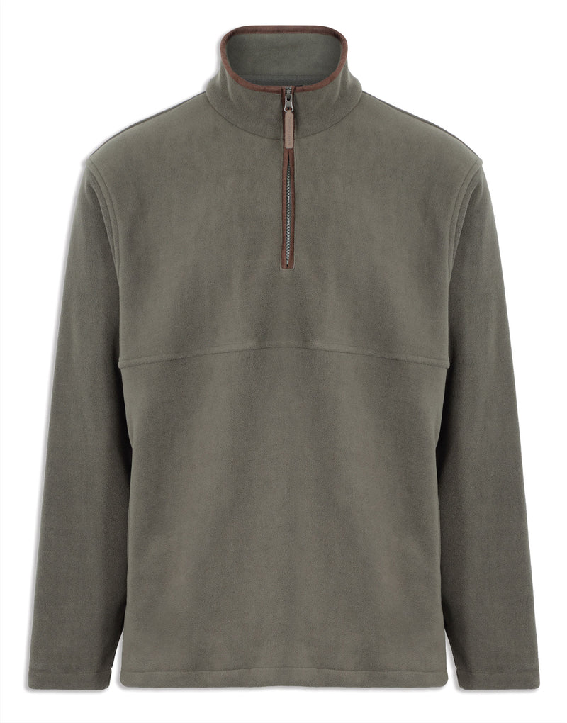 Olive Green Champion Oban Half Zip Fleece